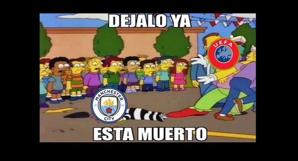 Ya déjenlo, está suspendido: los memes más virales que se burlan de la sanción al Manchester City [FOTOS]
