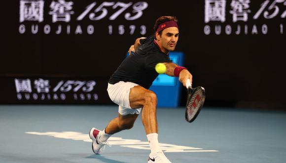 Roger Federer hizo historia al ser el único tenista en cumplir 1000 semanas dentro del top 20 de la ATP. (REUTERS)