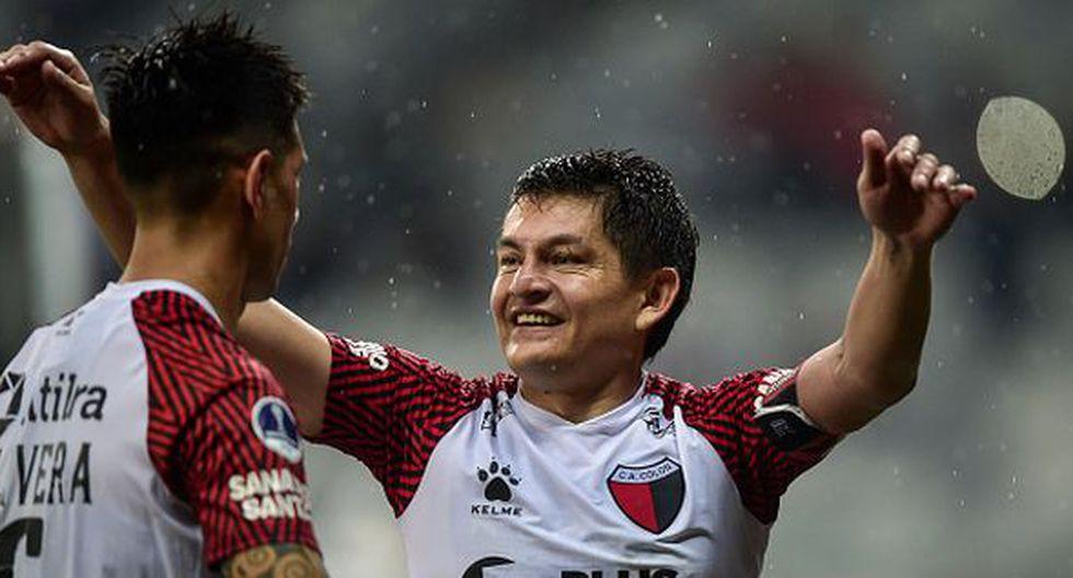 La 'Pulga' Rodríguez dio la vuelta al mundo con el penal que le dio el pase a Colón a la final de la Sudamericana. (Getty)