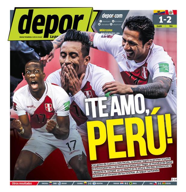 ¡Te amo, Perú!