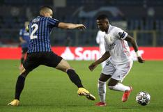 Con gol de Mendy: Real Madrid venció 1-0 a Atalanta en Italia por la ida de octavos de Champions League