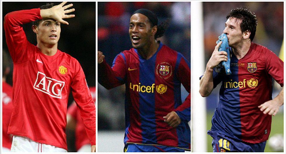 El equipo ideal con los más valiosos del mundo en el 2008. (Foto: AFP)