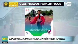 Tokio 2020: Efraín Sotacuro y Melissa Baldera clasificaron a los Juegos Paralímpicos