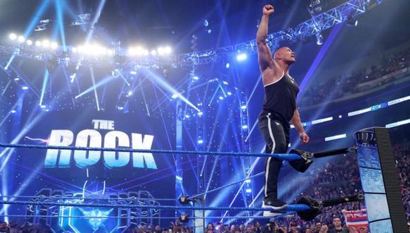 WWE le dedicó un video a The Rock por su cumpleaños número 48. (WWE)