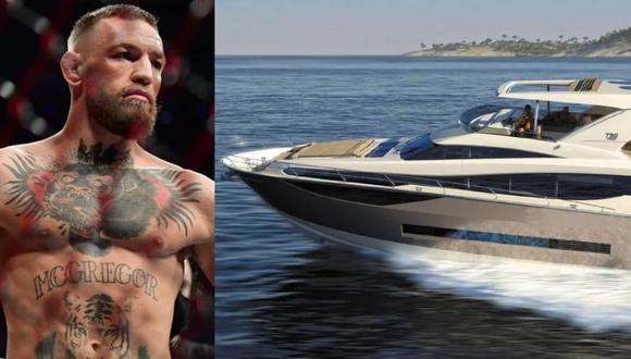 Conor McGregor reveló en Instagram su nuevo yate en Instagram. (Foto: Instagram)