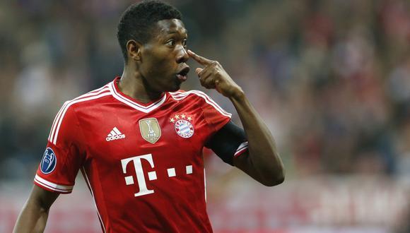 Alaba no renovará con el Bayern y llegaría como agente libre al Real Madrid. (Foto: AFP)