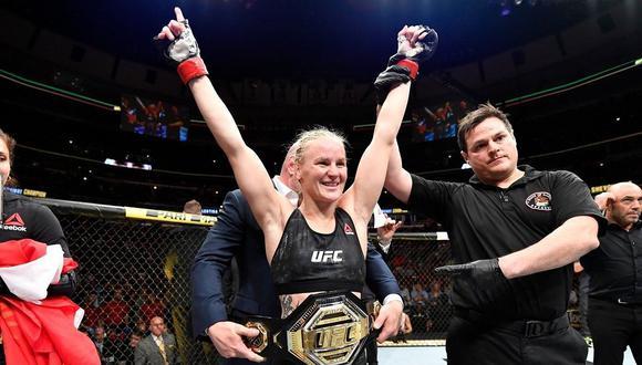 Valentina Shevchenko es la peleadora mejor pagada de Sudamérica en UFC. (UFC)