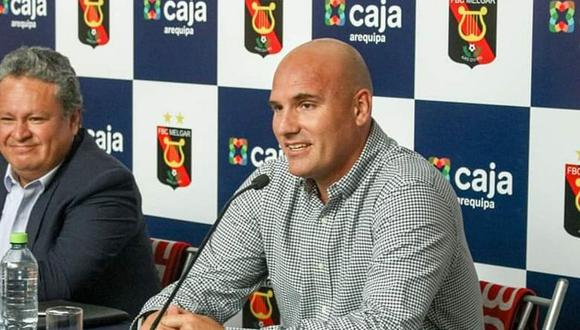 Ricardo Bettocchi llegó a Melgar en noviembre del año pasado (Foto: difusión).