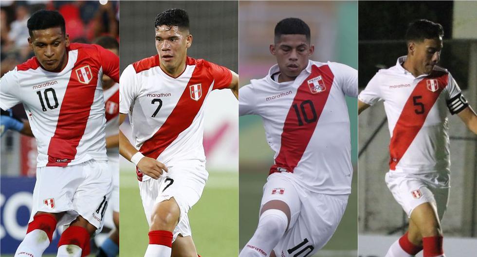 La Selección Peruana ganó cinco partidos oficiales entre la Sub 20, Sub 17 y Sub 15. (Diseño: Depor)