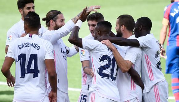 España: Real Madrid vs Levante: ver goles, resumen, estadísticas y mejores  jug | NOTICIAS DEPOR PERÚ