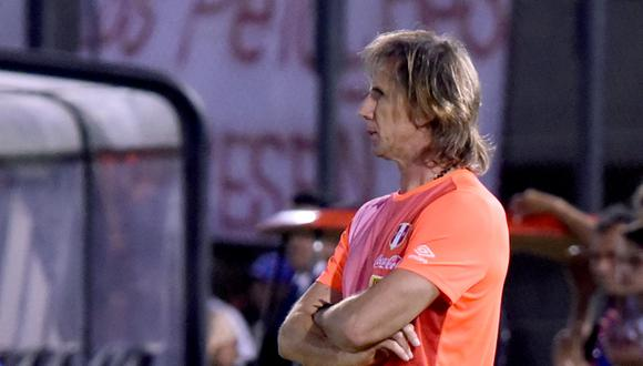 Ricardo Gareca ya tenía listo el plan para disputar la la primera fecha doble de las Eliminatorias. (Foto: AFP)
