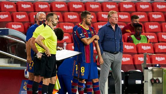 Miralem Pjanic llegó al Barcelona en 2020 desde la Juventus. (Getty)