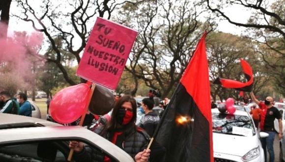 Hinchas tomaron las calles de Rosario pidiendo regreso de Lionel Messi (Fotos - Conclusión)