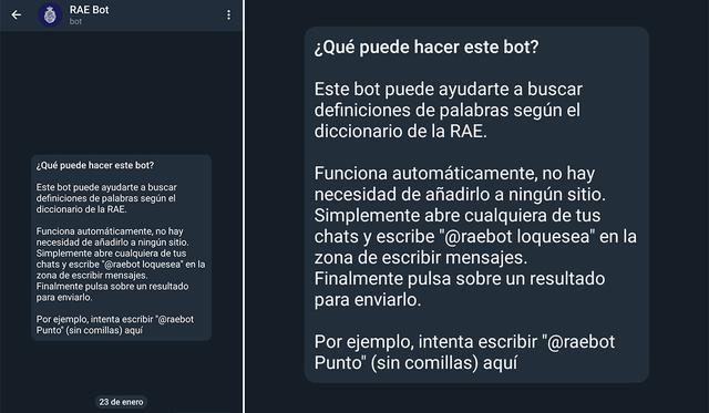 De esta forma, puedes jugar con diferentes bots en Telegram.  (Foto: MAG)