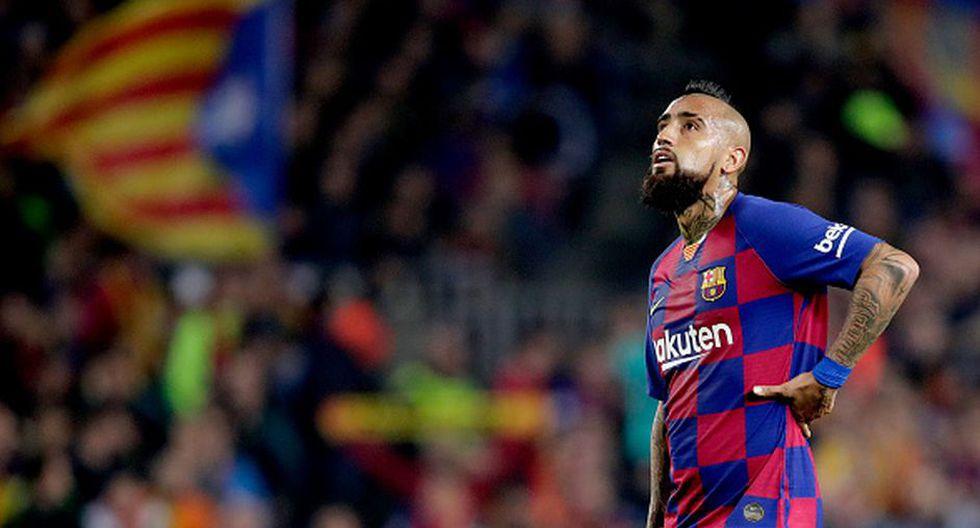 Arturo Vidal llegó a Barcelona a mediados del 2018. (Getty)