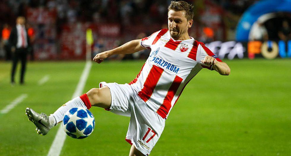 Jugador: Marko Marin / Club: Estrella Roja. (Getty)