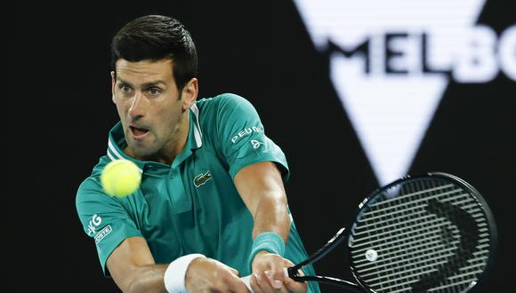 Australian Open 2021: los principales resultados de la primera ronda del Grand Slam. (Twitter)