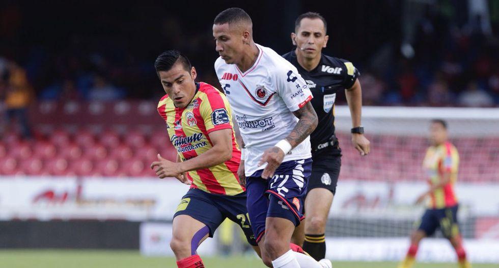Veracruz y Morelia igualaron 2-2 por la tercera jornada del Torneo Apertura 2018 de Liga MX. (Foto: @ClubTiburones)