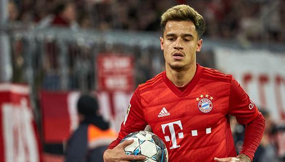 Philippe Coutinho llegó al Bayern Munich a modo de préstamo del Barcelona. (Getty)
