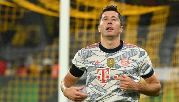 Robert Lewandowski no es prioridad en las renovaciones del Bayern Munich. (Foto: AFP)