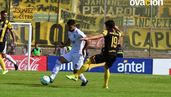 Nacional no pudo con Peñarol en el Centenario por el Torneo Clausura de Uruguay 2019. (Ovación)