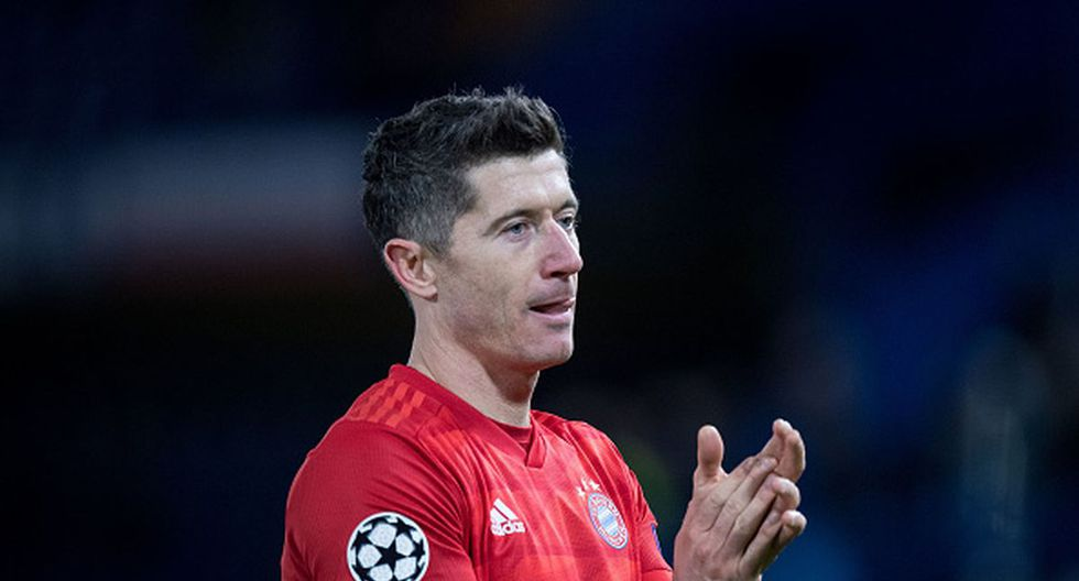 El polaco Robert Lewandowski está como goleador de la Bundesliga 2019-20. (Foto: Getty Images)