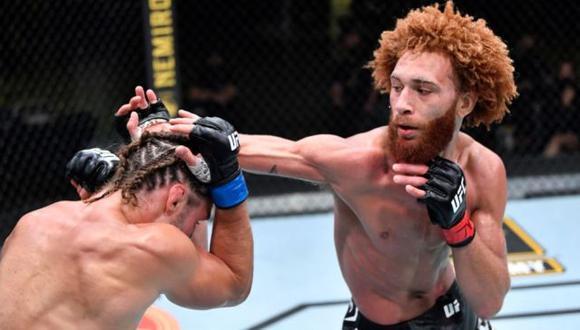 Luis Peña fue despedido de UFC tras ser arrestado por violencia doméstica. (UFC)