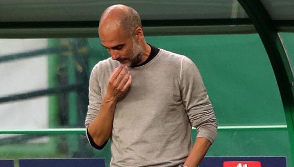 Pep Guardiola mostró sus intenciones de continuar en Manchester City. (Foto: AFP)
