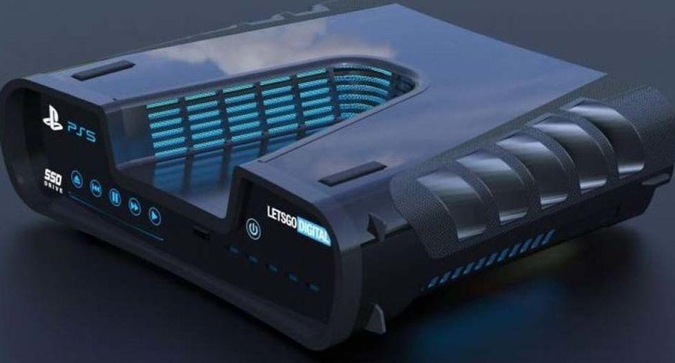 PS5: este sería el diseño final de la PlayStation 5 que Sony reveló en su página web oficial. (Foto: Difusión)