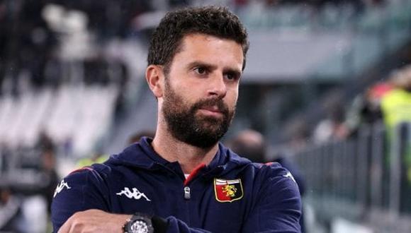 Thiago Motta es despedido como técnico del Génova tras dos meses en el cargo. (Foto: Agencias)