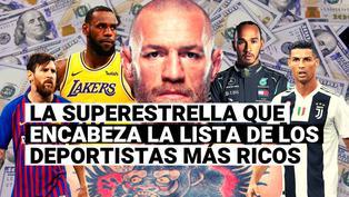 Conoce el atleta más rico del mundo por delante de Cristiano y Messi, según Forbes