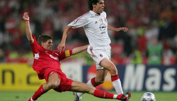 Kaká y todo el Milan tendrían su revancha ante Liverpool en la Champions 2006/07. Y ese año ganaría el Balón de Oro. (Foto: Getty Images)