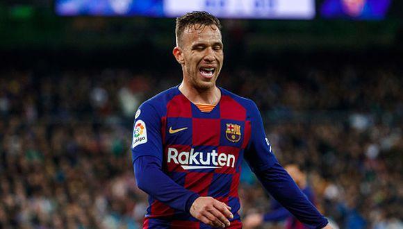 Arthur Melo llegó al Barcelona en 2018 desde Gremio. (Getty)