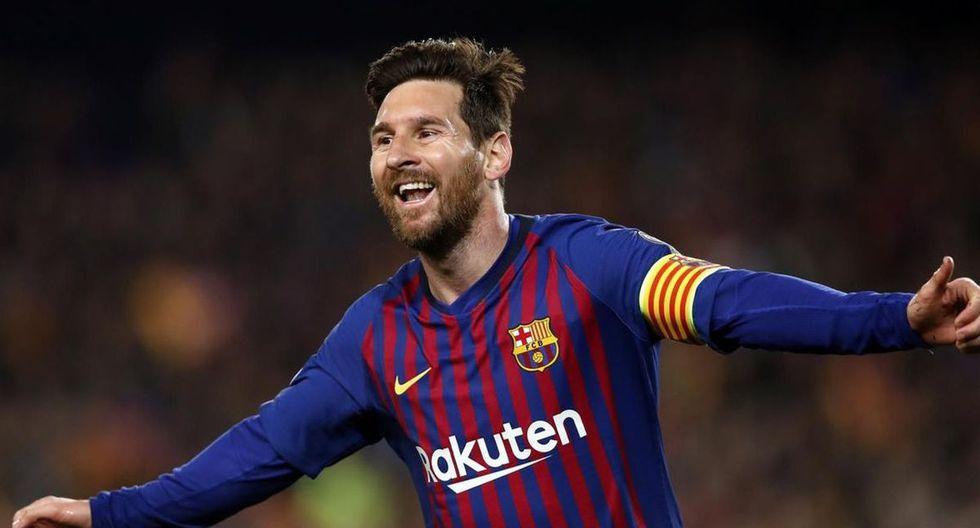 1. Lionel Messi.