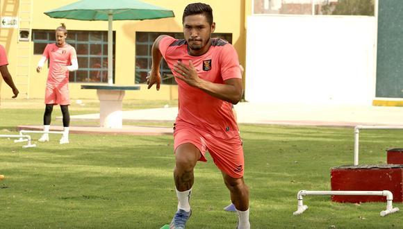 Joel Sánchez se mostró entusiasmado por el debut ante Universitario. (Foto: Melgar)