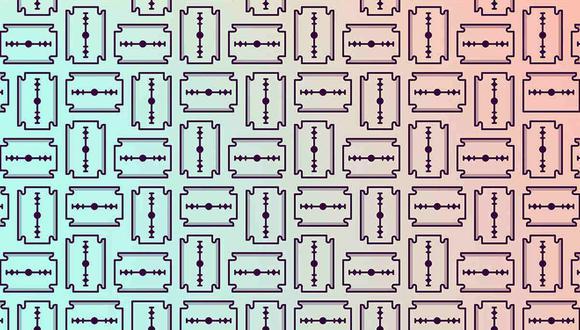 Tu misión, si decides aceptarla, es encontrar las 2 navajas de un solo filo en la ilustración. (Foto: Noticieros Televisa)