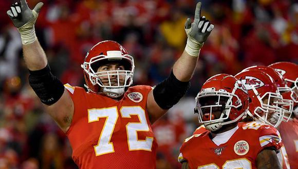Los Chiefs celebrando su victoria. (Foto: Getty Images)