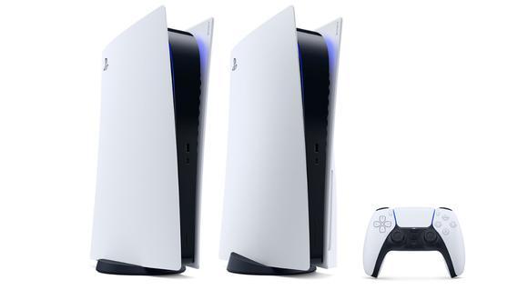 PS5 vendrá en dos versiones: una para juegos físicos (con entrada para discos) y otra para juegos digitales. (Fotos: blog.playstation.com)
