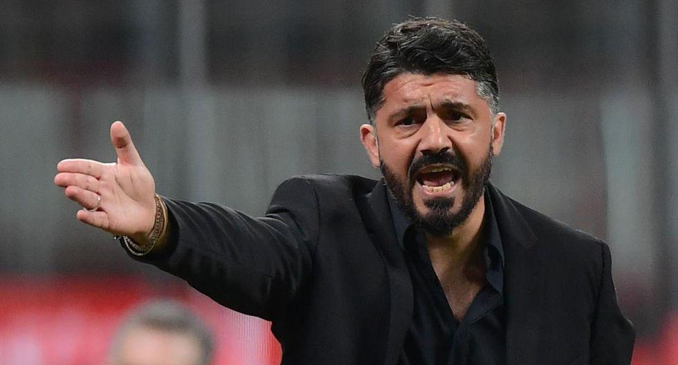 Gennaro Gattuso también debuta en esta Champions League.