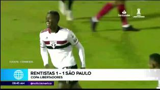 Copa Libertadores 2021: Sao Paulo empata contra Rentistas y elimina a Sporting Cristal