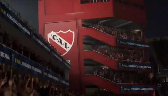 FIFA 20: Independiente de Avellaneda contará con su estadio licenciado. (Foto: EA Sports)