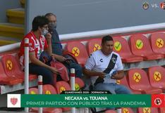 Luego de siete largos meses: el público regresó a los estadios de México para el Necaxa vs. Tijuana [VIDEO]