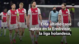 Países Bajos se queda sin fútbol, la temporada de Eredivisie se daría por terminada