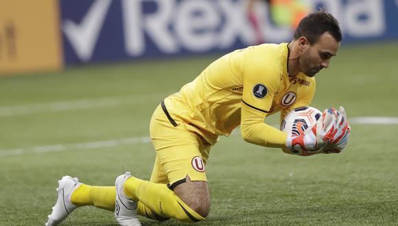 José Carvallo debutó en el fútbol profesional con Universitario la temporada 2003. (Foto: AP)