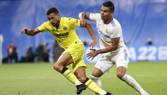 Real Madrid y Villarreal empataron 0-0 por la fecha 7 de LaLiga Santander. (Foto: Twitter)