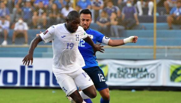 El Salvador vs. Honduras se vieron las caras este domingo por las Eliminatorias a Qatar 2022 (Foto: @LaSelecta_SLV).