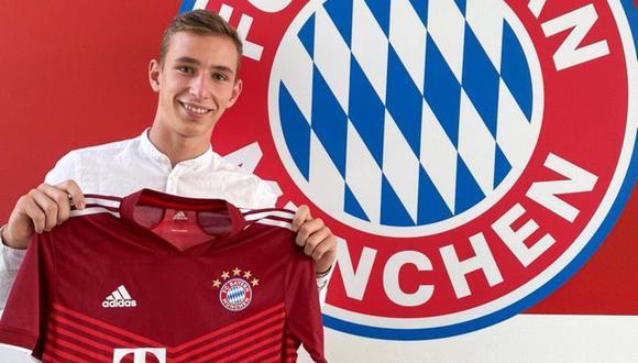 Lovro Zvonarek se unirá al club 'bávaro' recién la próxima temporada. (Foto: FC Bayern)