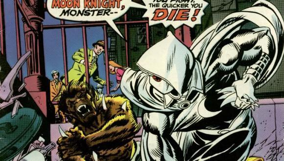 Las primeras apariciones de Moon Knight en las historietas (Marvel)