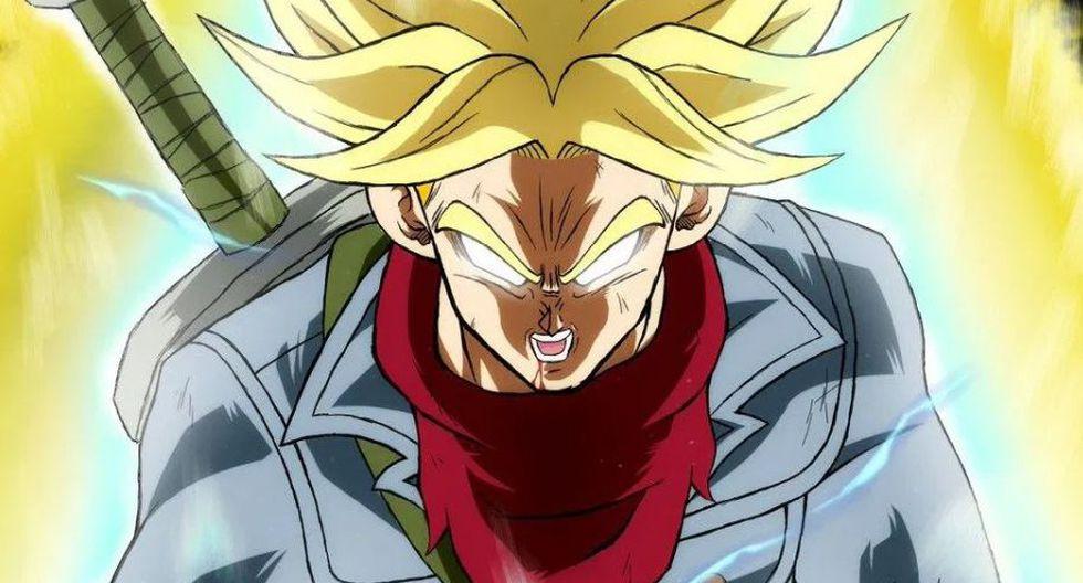 Dragon Ball Super: Trunks Ultra Instinto se vería así en el anime. (Foto: Difusión)