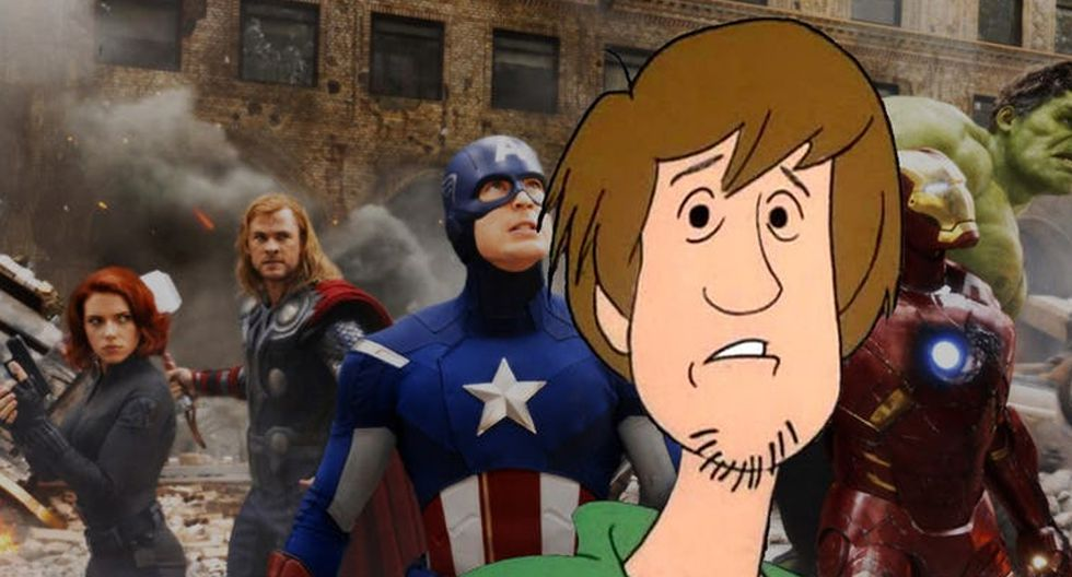 SHAGGY (Ultra Instinct) vs. THE AVENGERS